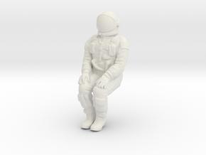 Gemini Astronaut 1:72 in White Natural Versatile Plastic