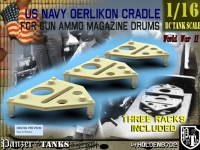 1-16 Oerlikon Magazine Cradle Set1 in Frosted Ultra Detail