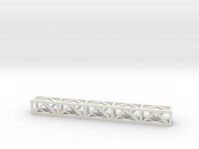 Lattice Frame 188mm  in White Natural Versatile Plastic