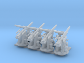 Royal Navy 1:350 3 Inch 20 cwt AA Gun Elevated in Smoothest Fine Detail Plastic