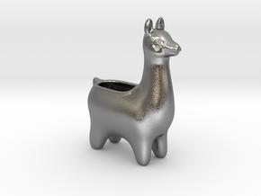 Llama Planters - Small in Natural Silver