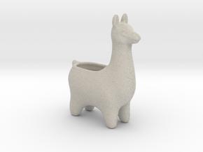 Llama Planters - Small in Natural Sandstone