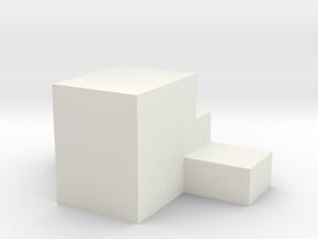 M14 Airsoft Flat Nub in White Natural Versatile Plastic