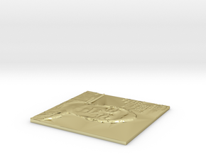 Image in 18k Gold Plated Brass