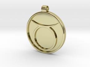 Zodiac KeyChain Medallion-TAURUS in 18k Gold