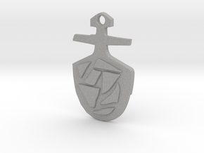 Third Doctor's T.A.R.D.I.S. Key Pendant in Aluminum