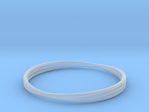 Bracelet 6 in Smooth Fine Detail Plastic