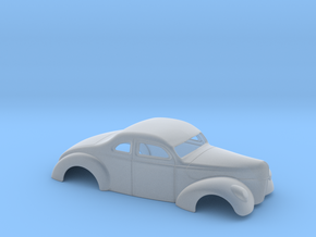 1/64 1940 Ford Coupe 3 In Chop 4  In Section in Smoothest Fine Detail Plastic