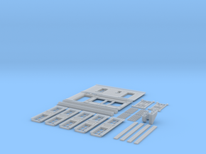 NVIM23 - City buildings in Smooth Fine Detail Plastic
