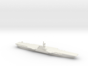 Verdun-class Aircraft Carrier (PA58), 1/1800 in White Natural Versatile Plastic
