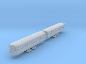 N Scale CTA 6000 Series (As Built) in Smooth Fine Detail Plastic