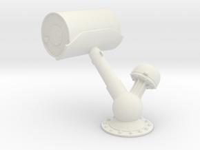 1/24 USN K-Gun - Depth Charge Loaded in White Natural Versatile Plastic
