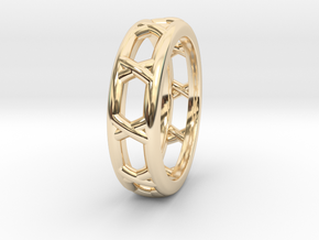 Rln0011 in 14k Gold Plated Brass