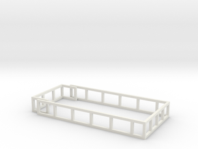 MA18 Silage Racks in White Natural Versatile Plastic