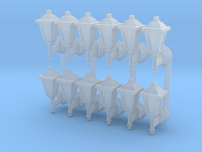 Street lamp 02. 1:64 scale  in Smooth Fine Detail Plastic