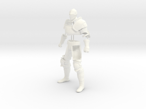 Dark Souls Partial Knight Set in White Processed Versatile Plastic