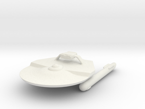 USS Madrid in White Natural Versatile Plastic