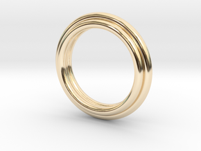 011 in 14K Yellow Gold