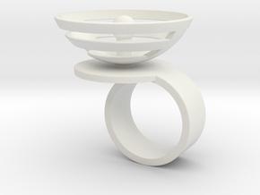 Orbit: US SIZE 5 in White Natural Versatile Plastic