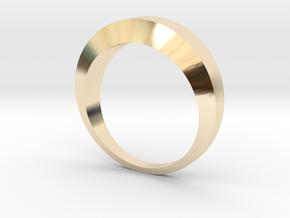 Flat  in 14K Gold