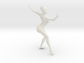 1/18 Nude Dancers 014 in White Strong & Flexible