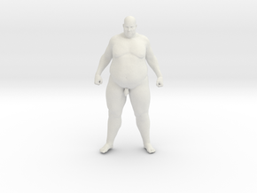 1/20 Fat Man 002 in White Strong & Flexible