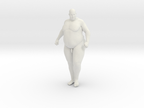 1/20 Fat Man 009 in White Strong & Flexible