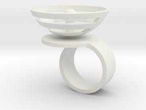 Orbit: US SIZE 4.5 in White Natural Versatile Plastic