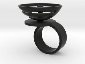 Orbit: US SIZE 6 in Black Natural Versatile Plastic