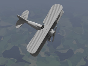 SPAD 13 (1917 Model) in White Strong & Flexible: 1:144