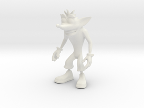 Crash Twinsanity - WSF 104mm in White Natural Versatile Plastic