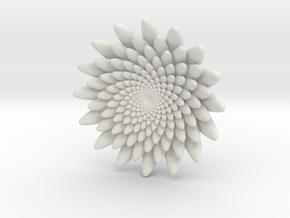 Small flower in White Natural Versatile Plastic