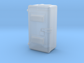 Relay Cab 1.stl in Smooth Fine Detail Plastic