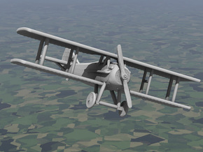 SPAD 13 in White Strong & Flexible: 1:144