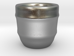 Design Cup for Coffee or else will keep the Coffee in Natural Silver