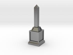 Obelisk of Victory in Natural Silver