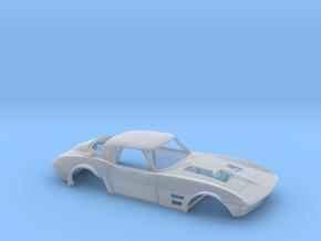 1/43 Corvette Grand Sport 1964 in Smooth Fine Detail Plastic
