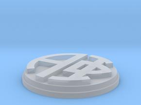 Alpha Phi Monogram in Smooth Fine Detail Plastic