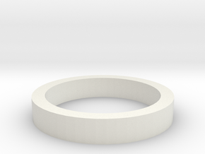 Arm retaining collar for Gondola in White Natural Versatile Plastic