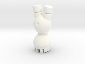 Rook N0gg1n in White Processed Versatile Plastic