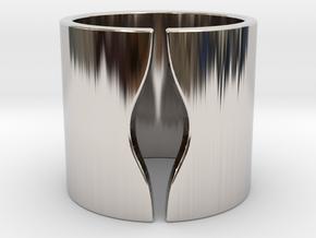 ELLE in Rhodium Plated Brass