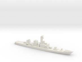 Hatakaze-class destroyer, 1/2400 in White Natural Versatile Plastic