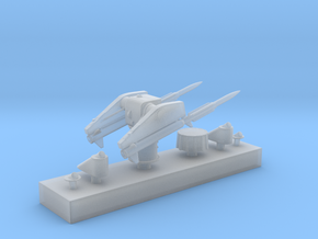 1/350 MK10 GMS Guided Missile Launching System in Frosted Ultra Detail