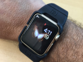 38mm Case Small in Black Strong & Flexible