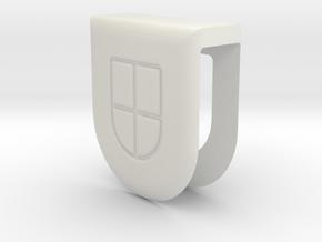 Webcam Cover // 5mm // ULTRA BOOK in White Natural Versatile Plastic