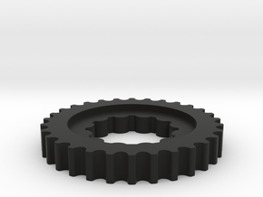 Crank Pulley 3.0-1 in Black Strong & Flexible
