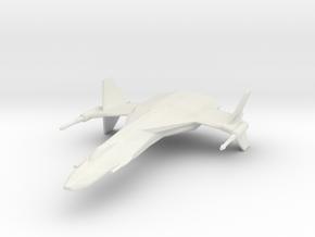 StarHawk Space Fighter Miniature in White Natural Versatile Plastic