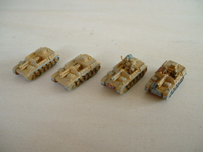 "Sturmpanzer II ""Bison"" 15cm Assault Gun 1/285 6mm in Smooth Fine Detail Plastic"