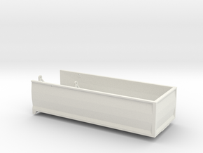 MA22 Bed in White Natural Versatile Plastic: 1:64