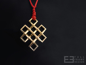 Endless Knot in 18k Gold Plated